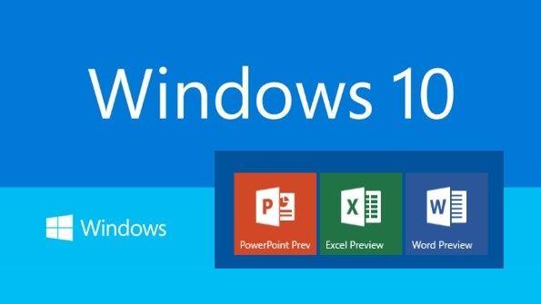 Office Universal Apps planned for release alongside of