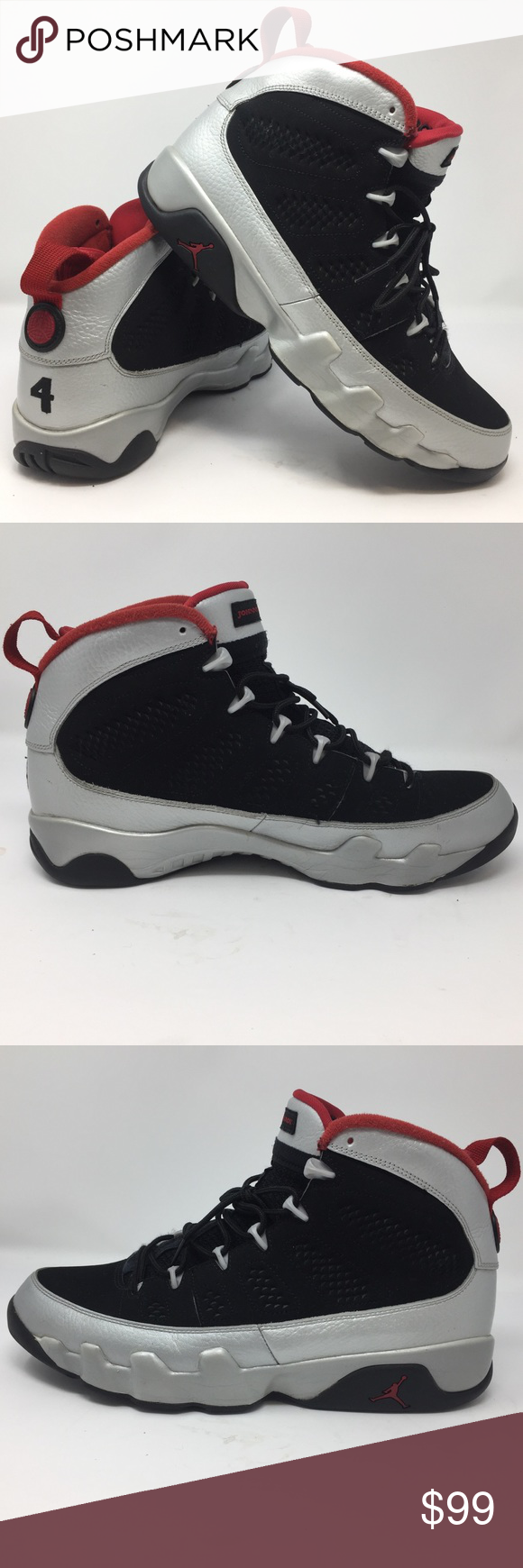 04f5a22f52a Nike Mens Air Jordan 9 Retro Johnny Kilroy 11 EUC Nike Mens Air Jordan 9  Retro Johnny Kilroy (Jordan's alter ego) size 11 In excellent used  condition.