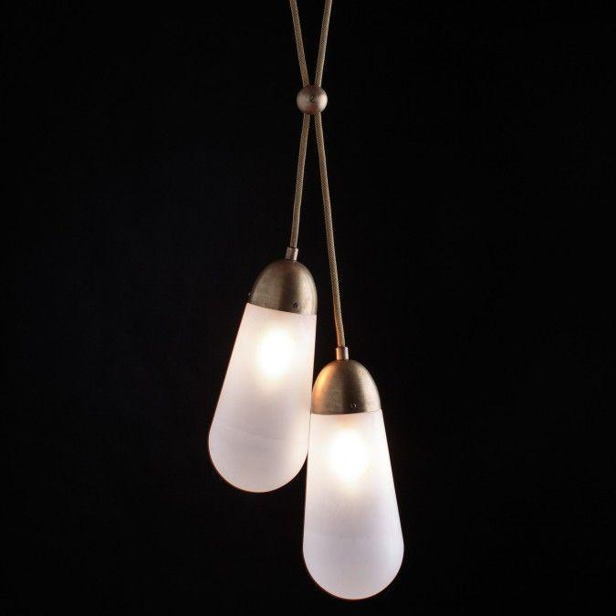 Simple Lighting Fixtures In Brass Apparatus Studio New York