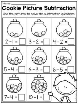 Kindergarten Addition And Subtraction Worksheets Up To 10 Kindergarten Subtraction Worksheets Kindergarten Math Worksheets Addition And Subtraction Worksheets