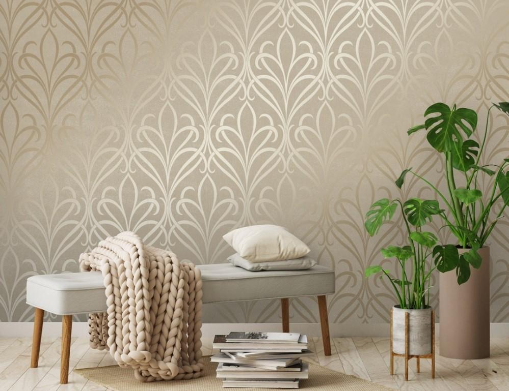 Wallpaper Dinding Ruang Tamu Minimalis Motif Elegan Dekor Rumah Ruang Tamu Dinding Ide Dekorasi Rumah