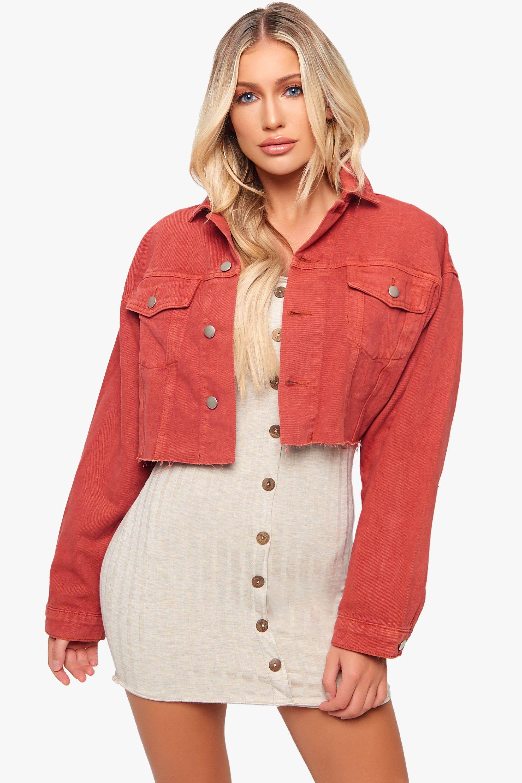 1f8a4e8fb5c Crop It Like Its Hot Denim Jacket in 2019