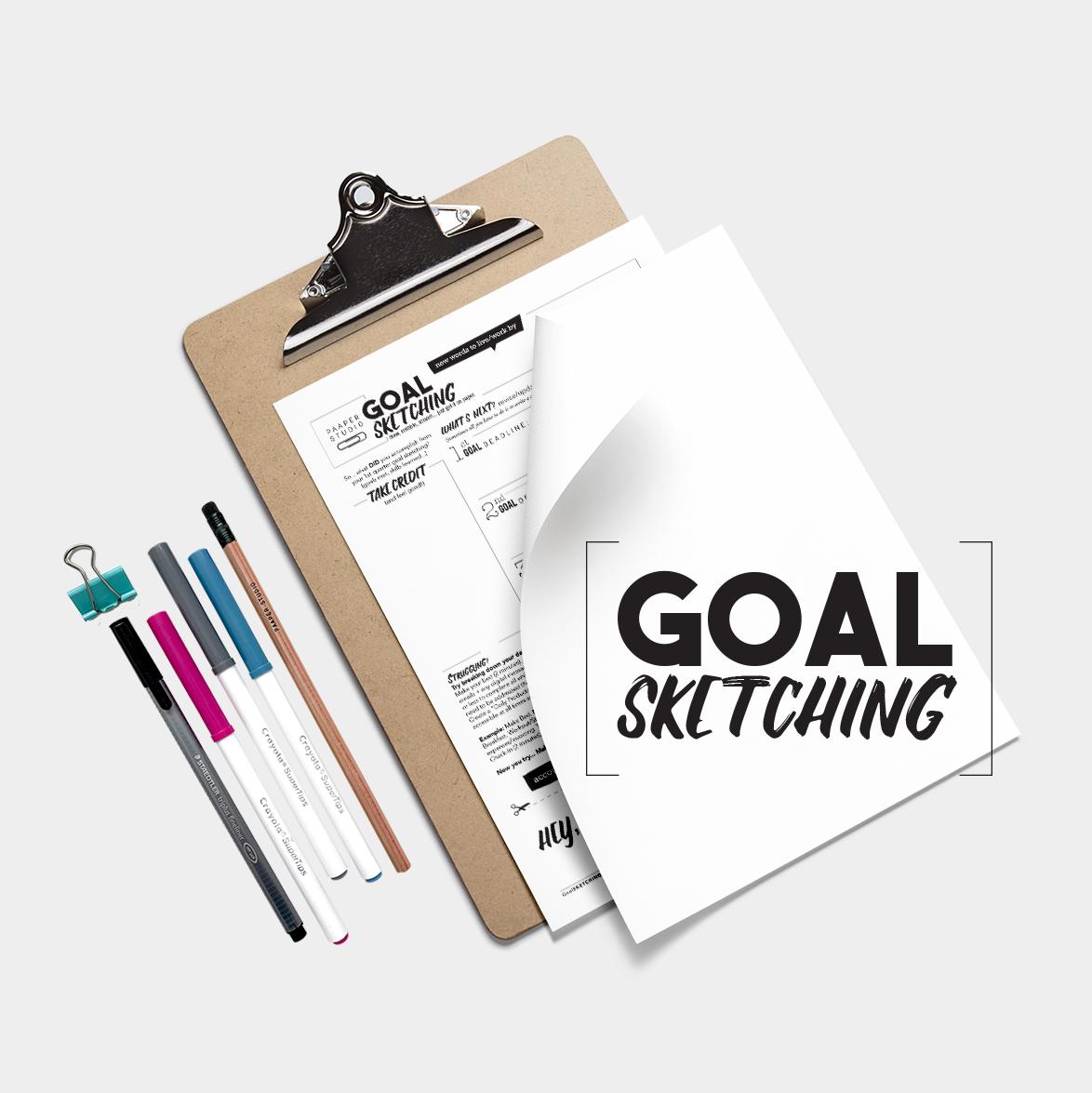 Goal Sketching