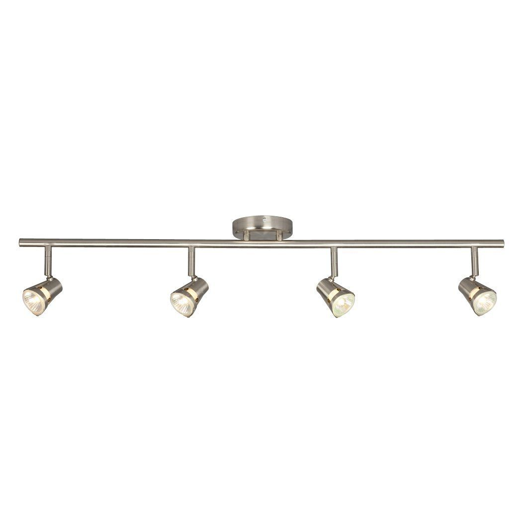 amazon track lighting. Amazon.com: Galaxy Lighting 755594BN 4 Light Halogen Fixed Track Lighting: Lamps \u0026 Amazon