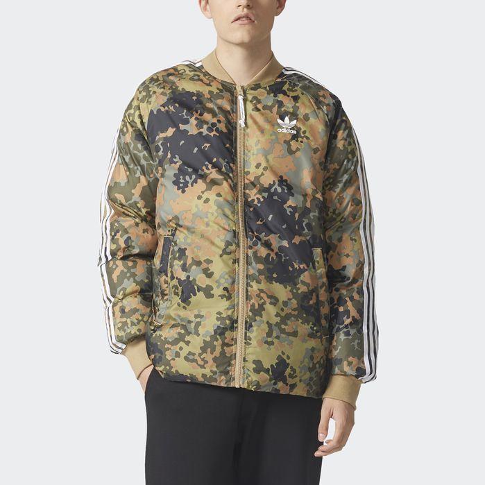 adb57f8fe04f4 adidas Pharrell Williams Hu Hiking Reversible Camo SST Jacket - Mens Jackets