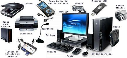 El Hardware de una Computadora son las partes, elementos o componentes del equipo, los cuales son utilizados para un fin determinado. Todo lo que podemos ver y tocar en el computador se denomina HARDWARE, la imagen anexa es un ejemplo de ello. Todos los elementos que conforman un equipo personal, se pueden comprar como un todo o individualmente en tiendas de tecnología.