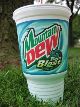 Taco Bell Green Drink Mountain Dew
