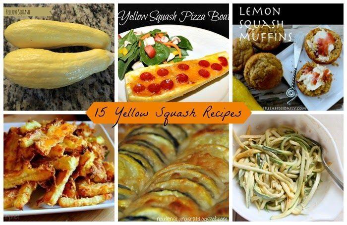 15 Yellow Squash Recipes