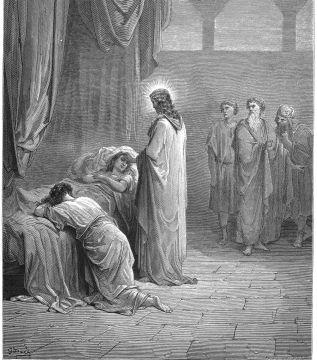 Uncatolico Biblia 180 Jesús Resucita La Hija De Jairo Ilustraciones Ilustraciones Oscuras Arte De Jesús