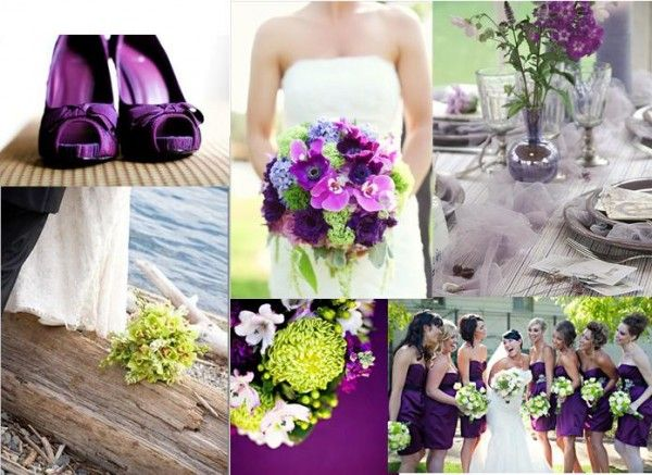 Lime Green And Purple Wedding Yellow And Gray Wedding Philippine