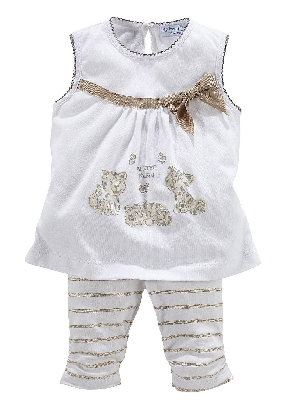 Klitzeklein Tunika & Leggings (Set, 2-tlg.), für Babys ...