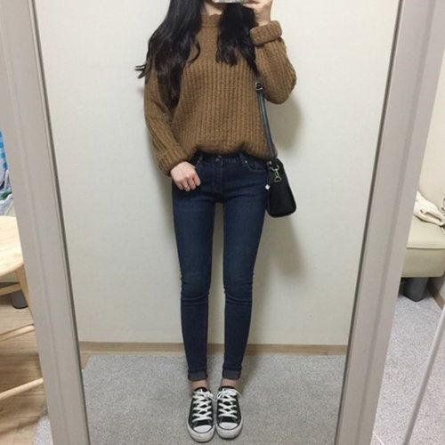 Winter Casual Cute Korean Outfits