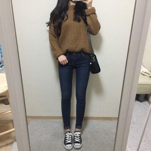 Winter Casual Cute Korean Outfits