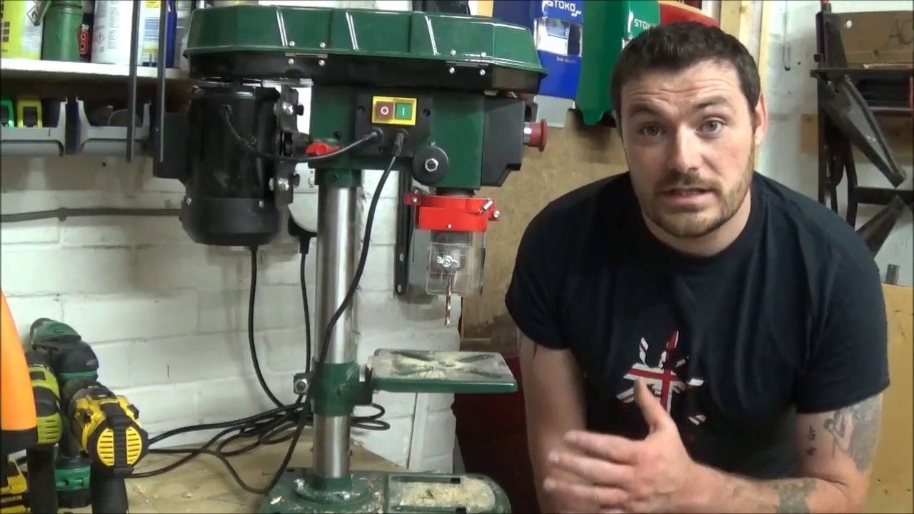 Parksidelidl 500w Bench Pillar Drill Review 005 Lidl