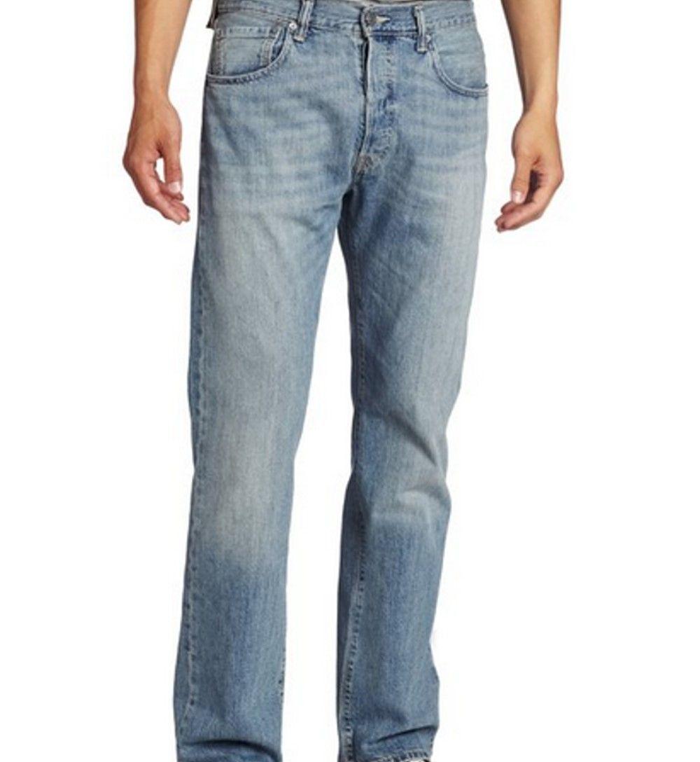Levi's Men's Stone Jeans 501 Fit Jeans light Coupons