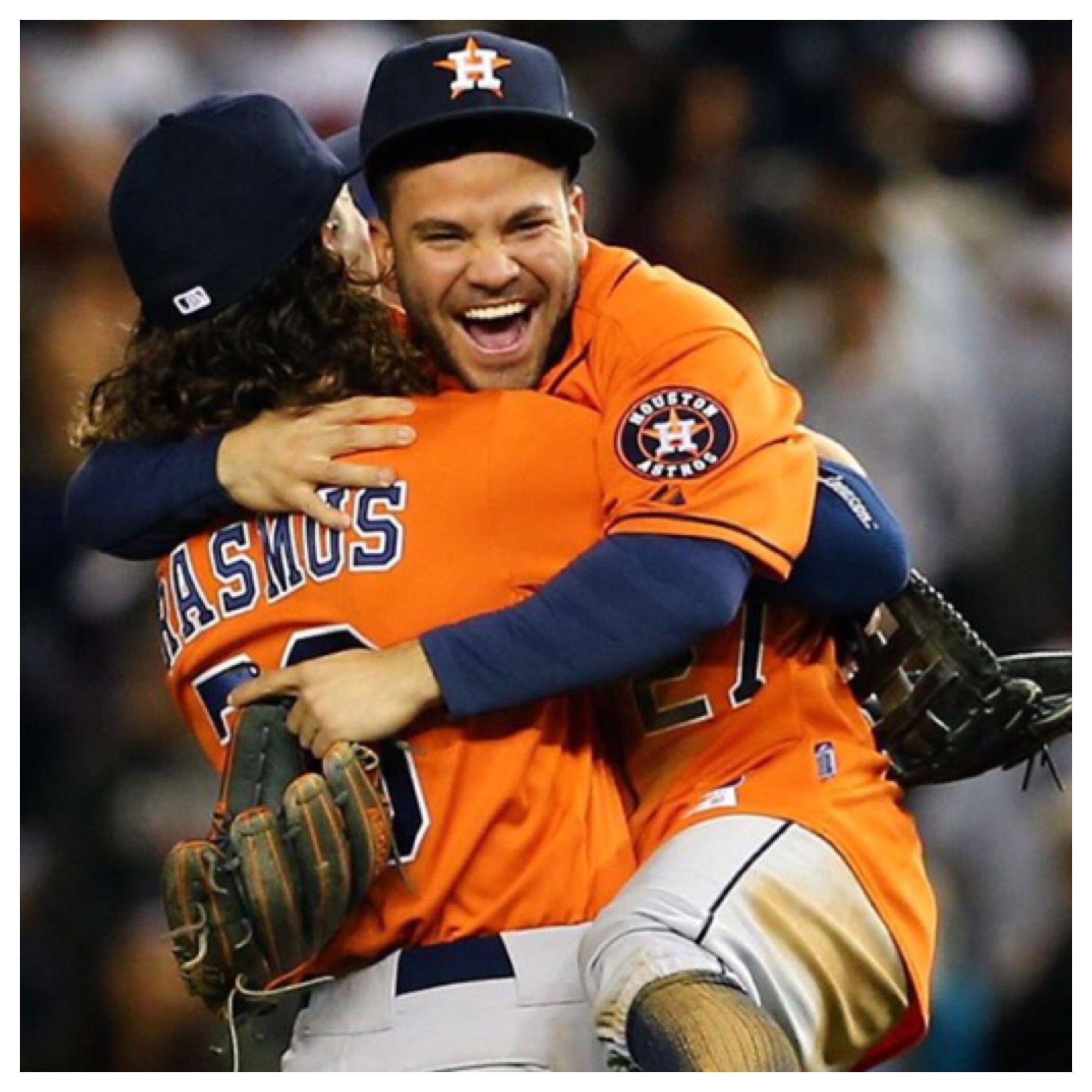 Astros win Wild card game! Jose Altuve Astros baseball