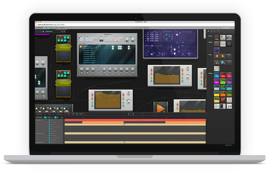 Make Your Own Songs In The Online Studio App And Publish Them On