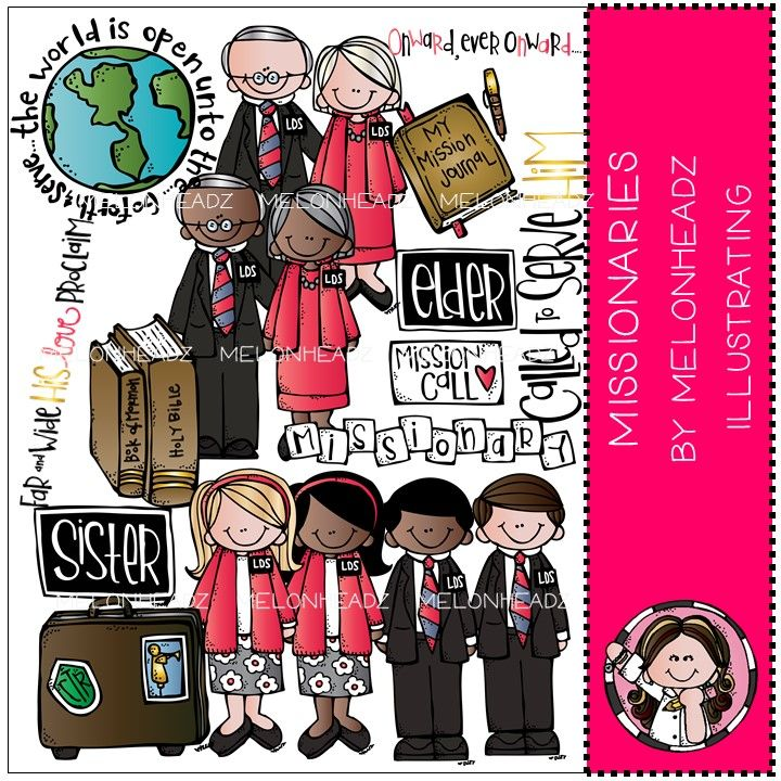 Melonheadz LDS illustrating | Clipart | Pinterest