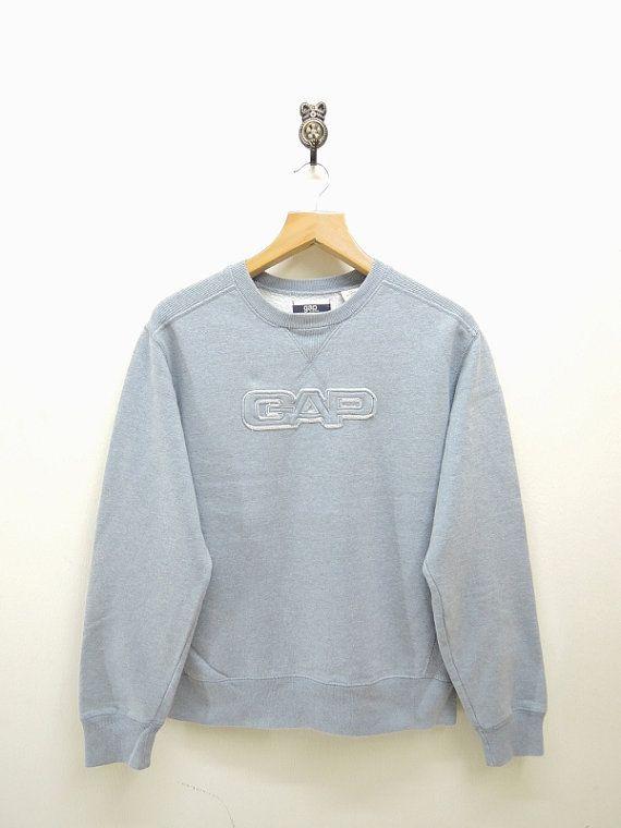 Vintage Gap Casual Pullover Sweatshirt Street by RetroFlexClothing