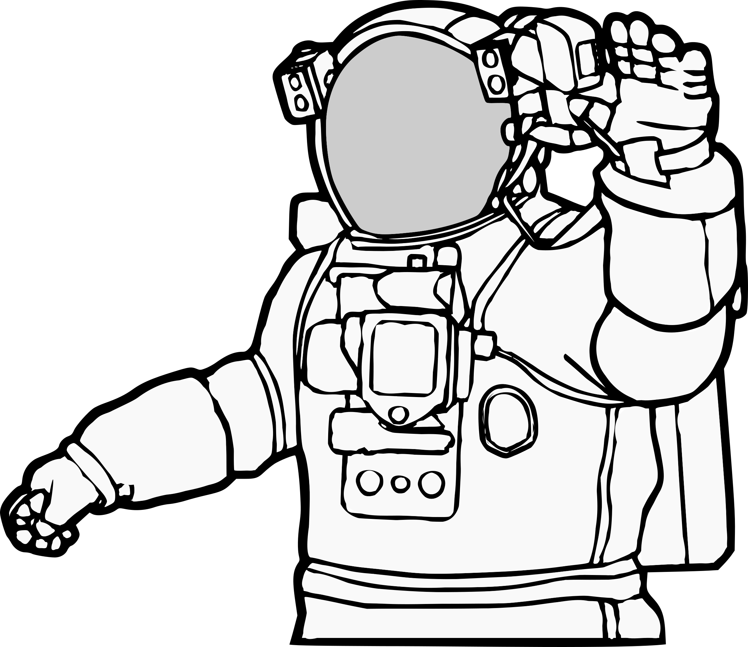 Astronaut Clipart For You Free Clip Art Clip Art Moon Drawing