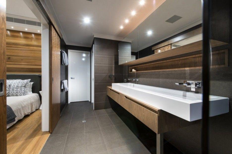 Bedroom And Bathroom Decor Attic Modern Master Bedroom and Bathroom D on  Apartment Bathroom Ideas Gorgeous