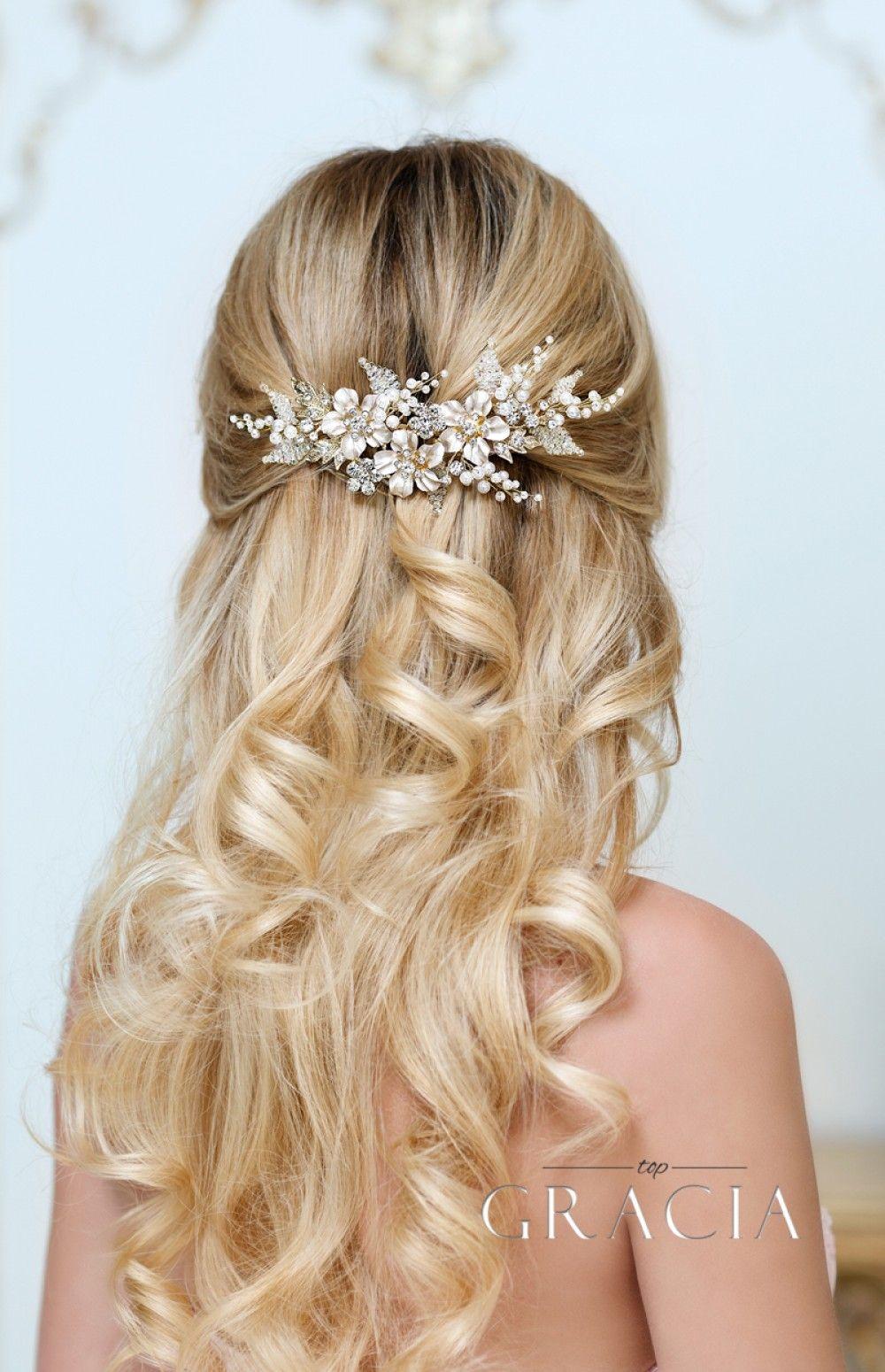 Navy Rhinestone Comb Bridal Hair Piece Blue Bridal Comb Wedding Headpiece Rhinestone Wedding Hair Comb Vintage Bride Hair Accessory