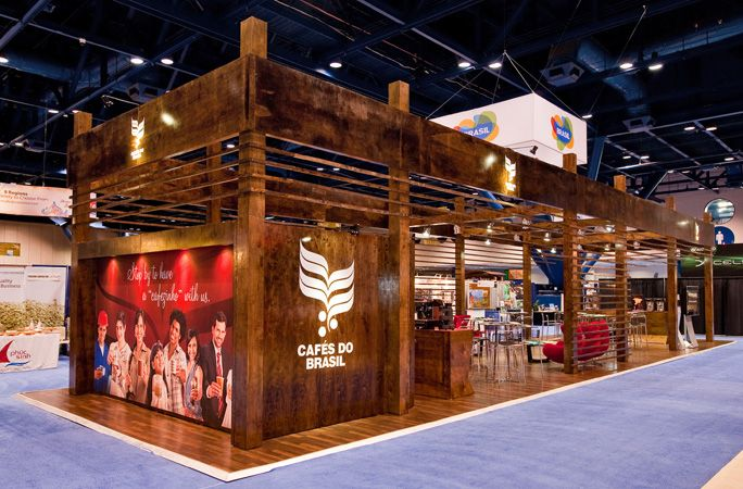 Wooden Exhibition Booth : Creative wood exhibit trade show booth ideas pinterest