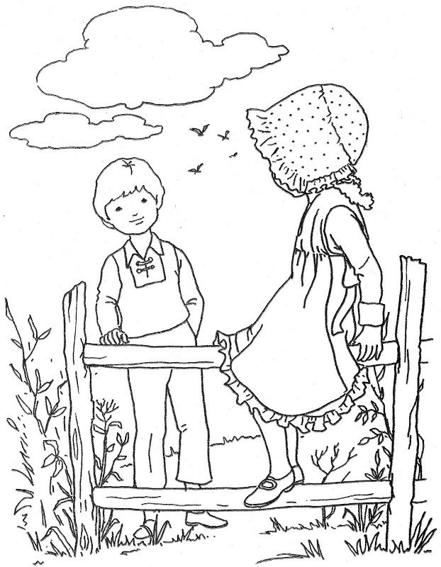 Old Fashioned Coloring Page | Old Fashioned, Sweet, & Vintage ...