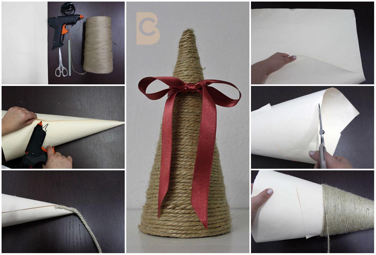 C mo hacer un cono de yute recuerda que en creating bags for Como puedo hacer un cono