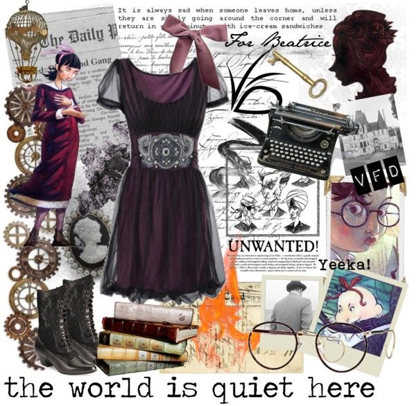 """The World is Quiet Here"" by thewhitebirds on Polyvore"