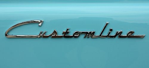 Chromeography | Bird Project | 1954 ford, Cars, Vintage fonts