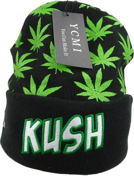Amazon.com  Ycmi® Winter Warm Mickey Hands Letter Kush Weed Marijuana  Beanies Hat 04b8e858c101