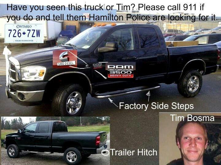 This is Tim bosmas  truck