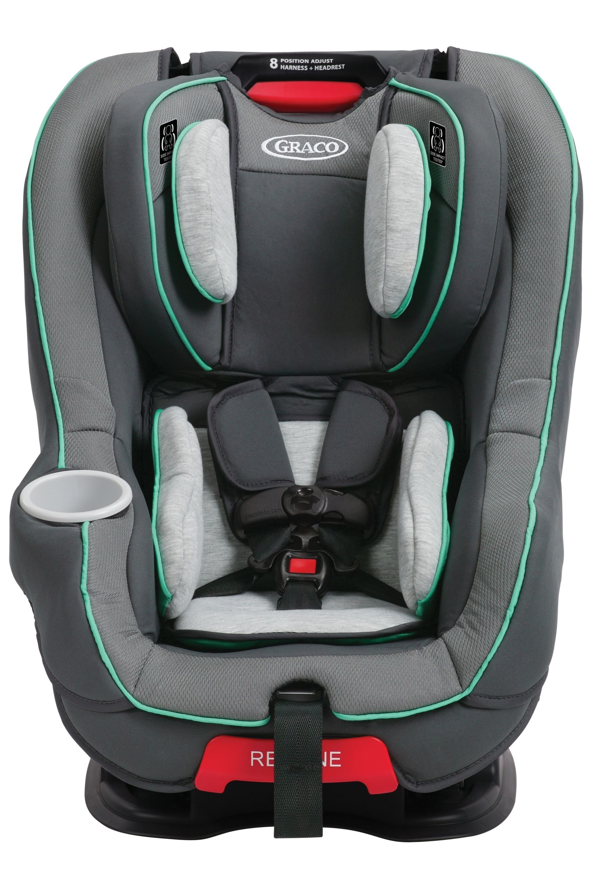 Graco's My Size 65 Convertible Car Seat in Isaac easily
