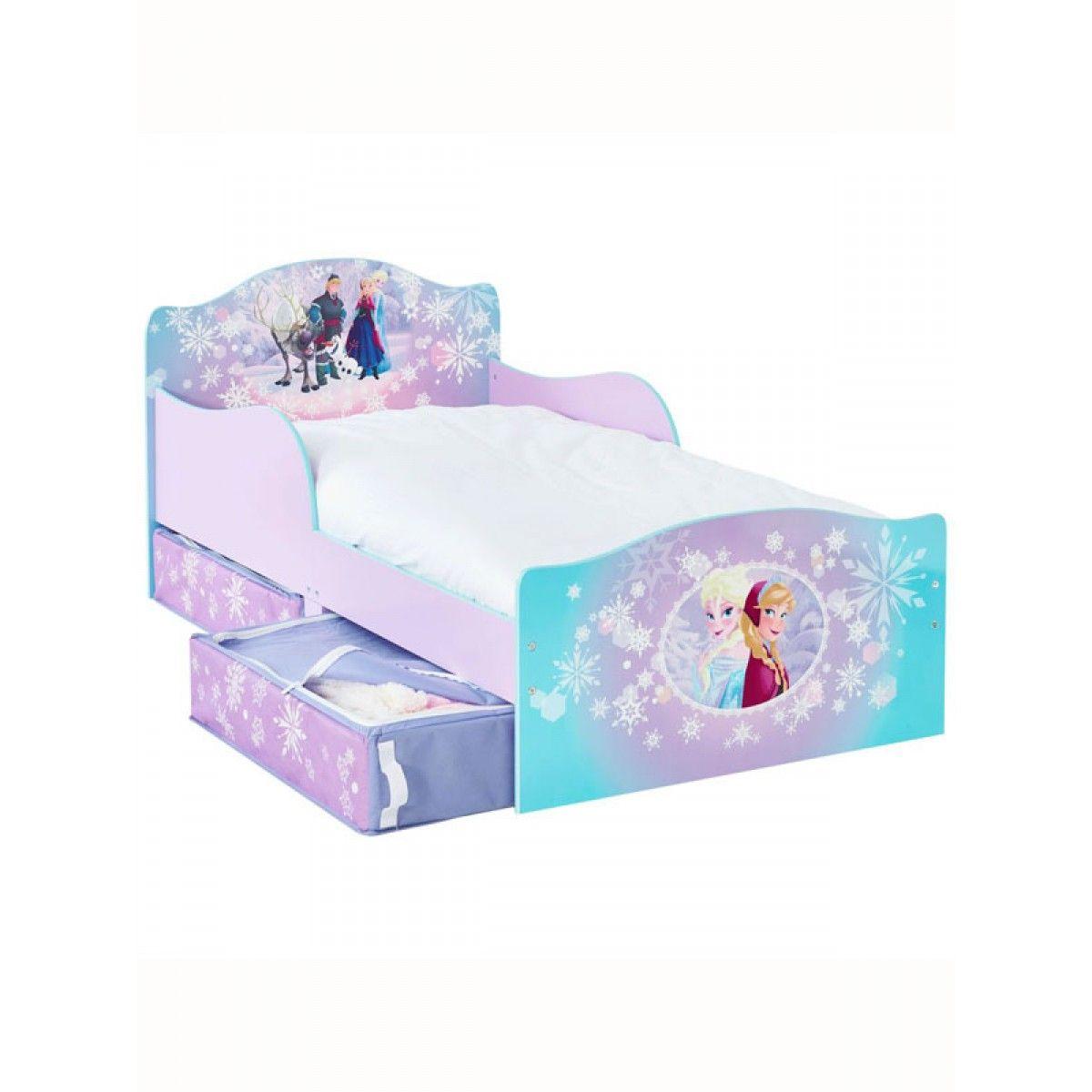 Disney Frozen Toddler Bed With Underbed Storage Frozen Bedroom