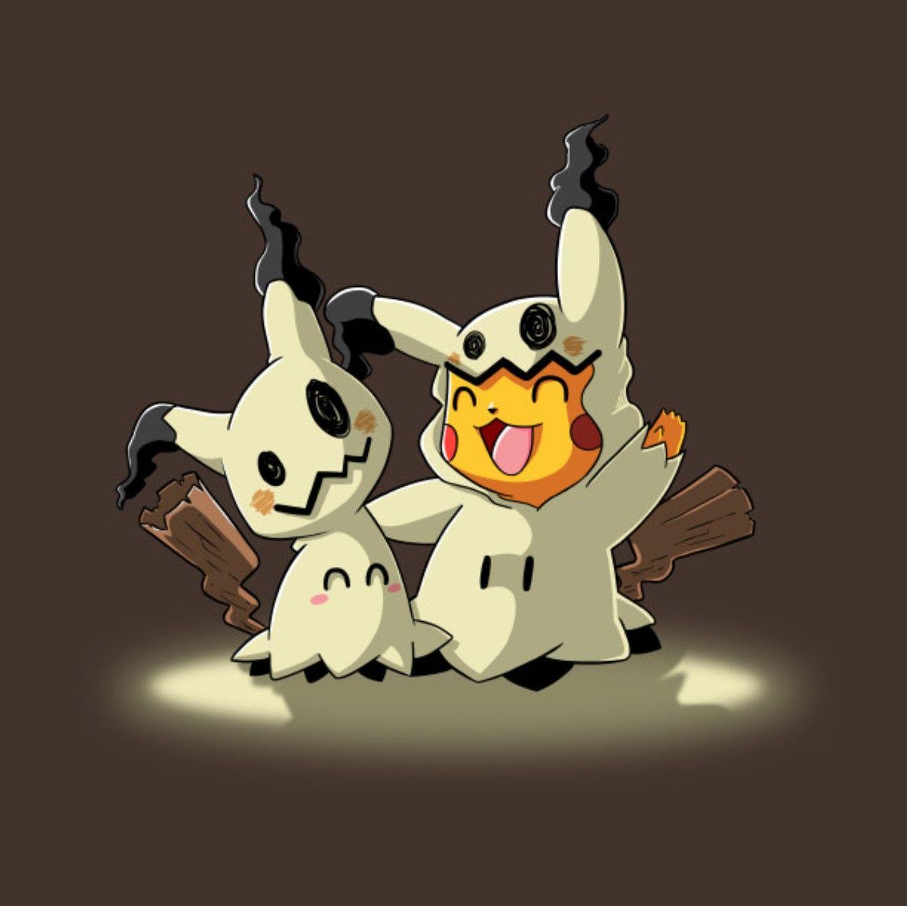 46163e59e0 Pikachu   Mimikyu