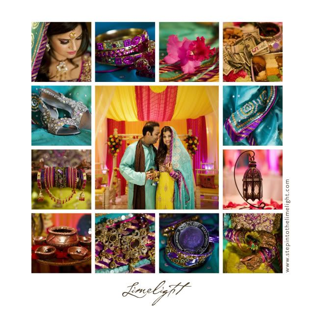 Bride and groom. Wedding picture collage, Wedding decorations, Wedding accessories,  Rasm-e-Mehndi, Indian Weddings, Wedding Photography, Limelight Photography   www.stepintothelimelight.com