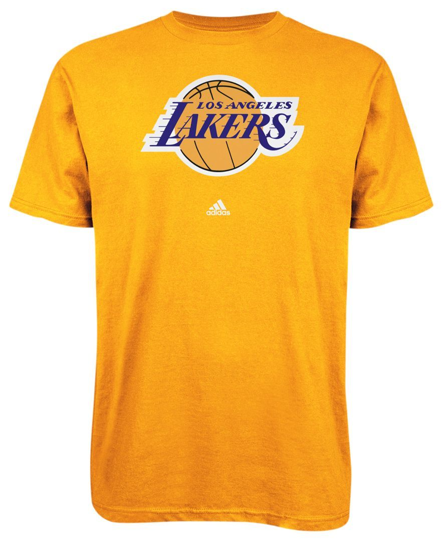 perder deseo Nosotros mismos  adidas NBA Shirt, LA Lakers Full Color Primary Logo Tee - Sports Fan Shop  By Lids - Men - Macy's | Nba shirts, Nba t shirts, Adidas nba