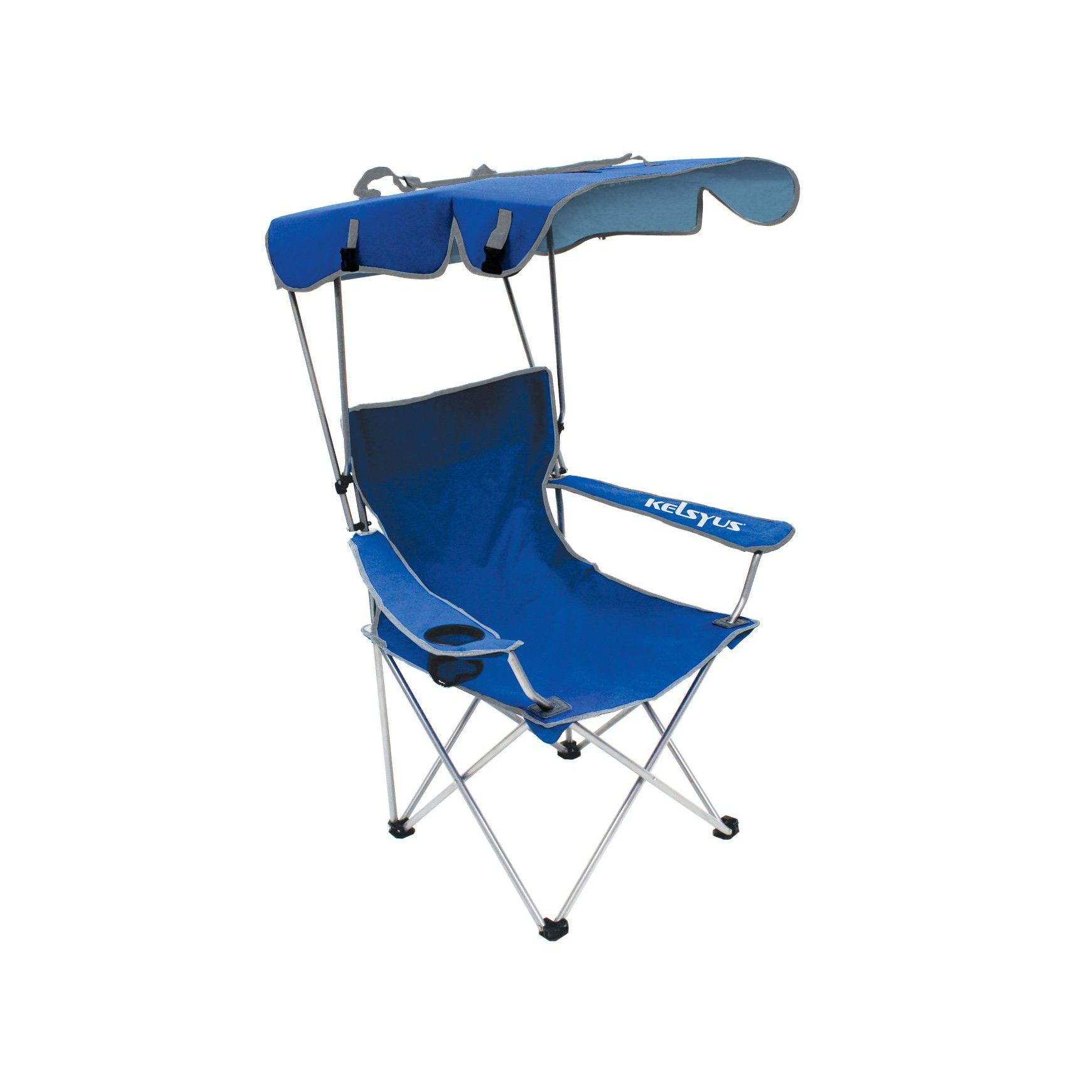 Surprising Kelsyus Convertible Canopy Chair Blue Products In 2019 Customarchery Wood Chair Design Ideas Customarcherynet