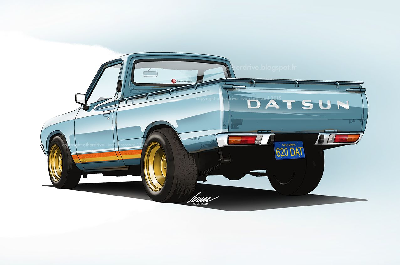 Nissan datsun 510 truck - Datsun 620 Pu For The Oclours
