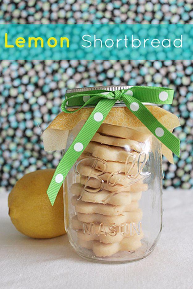 DIY Wedding Favors Lemon Shortbread Cookies