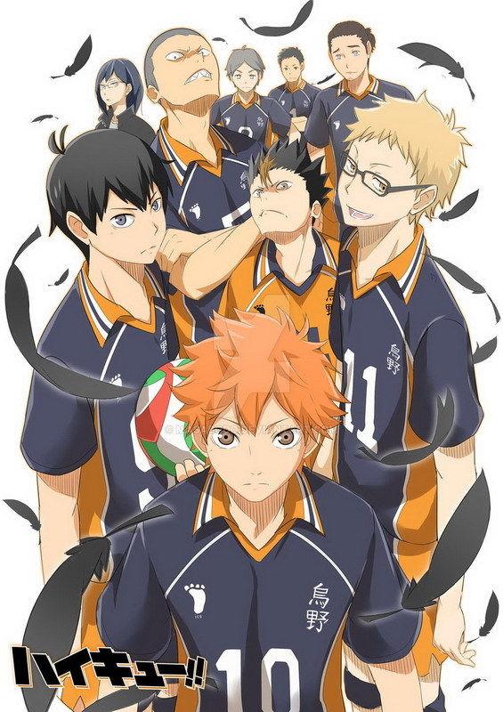 7.99 AUD Dm03123 Haikyuu Japan High School Volleyball