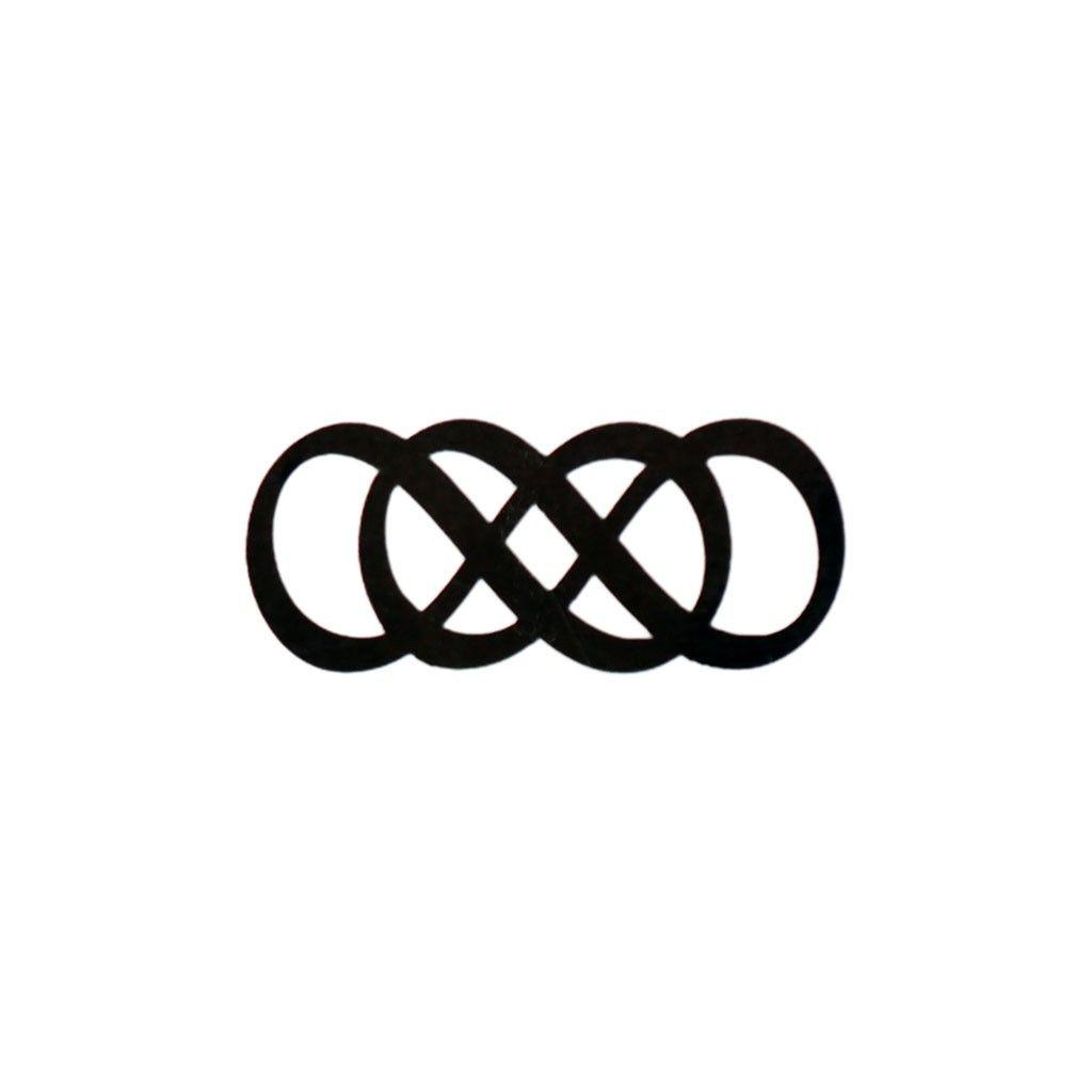 Double infinity art pinterest double infinity infinity and this double infinity temporary tattoo symbolizes something without limits buy this double infinity symbol tattoo as seen on revenge from tattoo fun buycottarizona