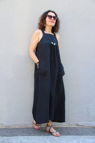 48978ae819c Annie Dress Pattern - Patterns - Tessuti Fabrics - Online Fabric Store -  Cotton