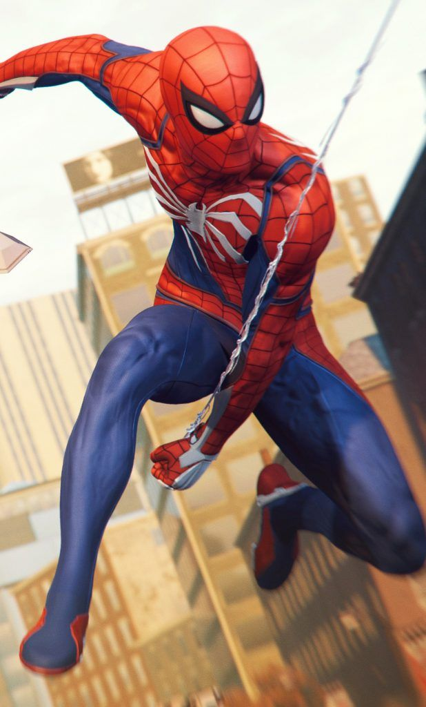 iPhone X Wallpaper Screensaver Background 188 Spiderman 4k