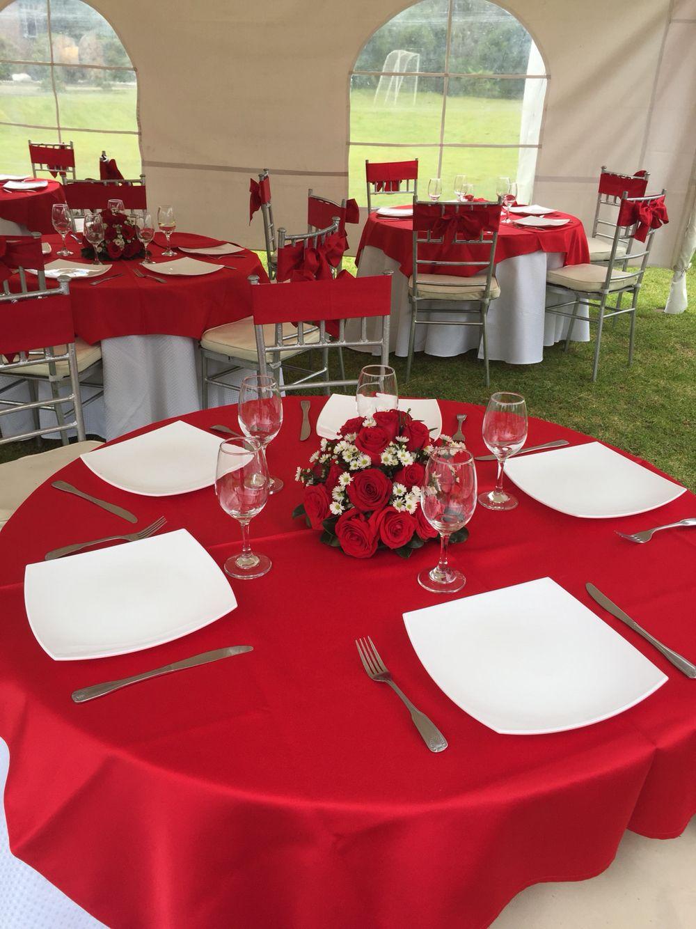 Wedding Table Red Theme Wedding Pinterest Wedding Tables