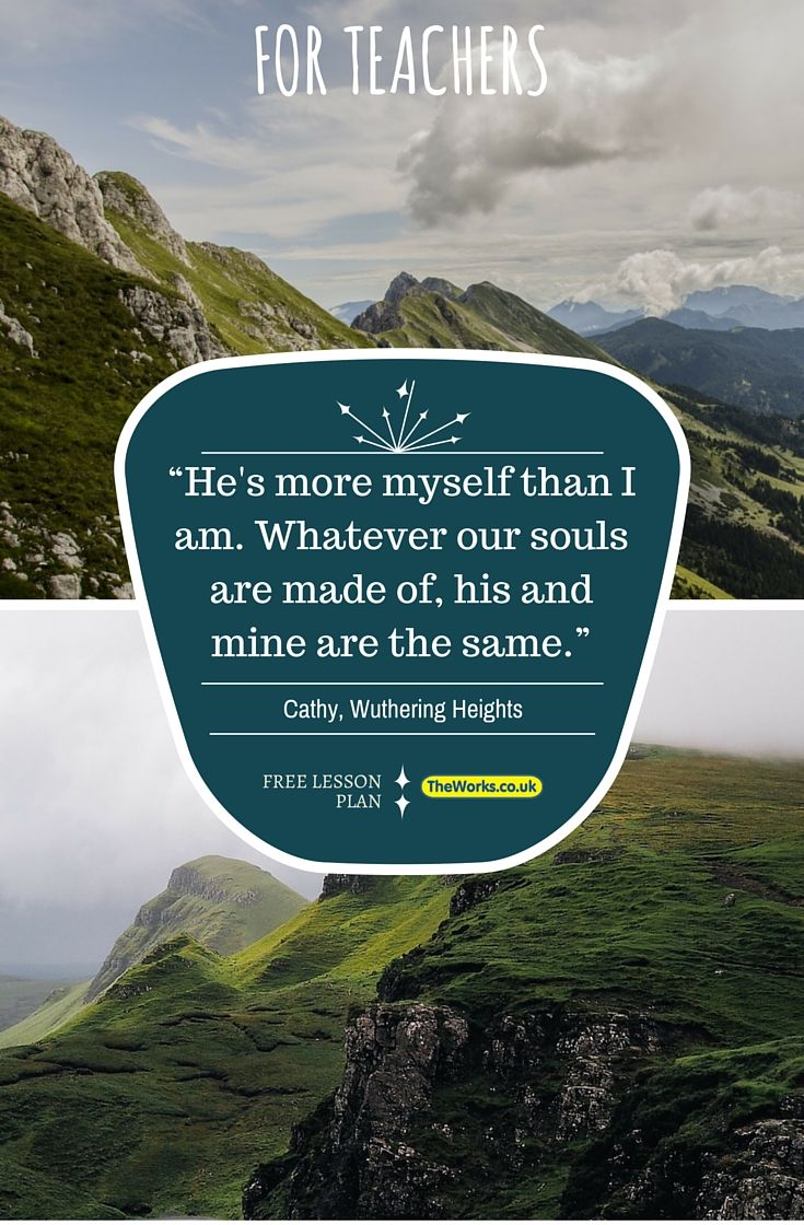 Wuthering Heights Lesson Plans for teachers. Activities and discussion ideas.