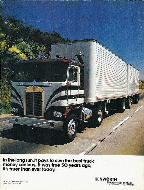 1973 Kenworth C O E Ad Kenworth Big Rig Trucks Big Trucks