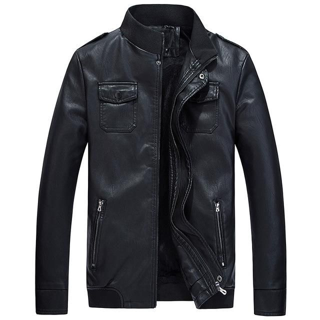 Hee Grand Men S Leather Jacket Coat Products