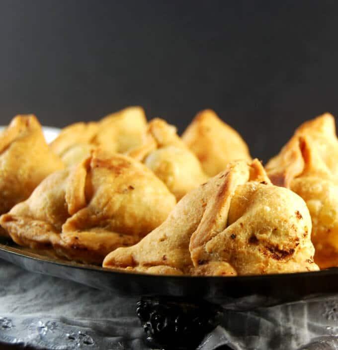 Punjabi Samosa Recipe Samosa recipe, Food, Vegan dishes